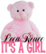 It's a Girl bear - Leea Renee