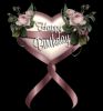 Pink Roses Birthday Heart