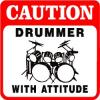 drums with attitude