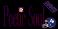 Poetic Soul New York Giants Tag
