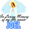 In loving memory of Joel
