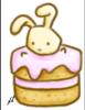 Mini Bunny Cake