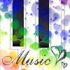 Piano (heart) Music