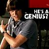 he's a genious