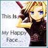 Cloud happy face