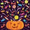 pumpkin exploding candy