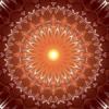 Indian Sun Mandala